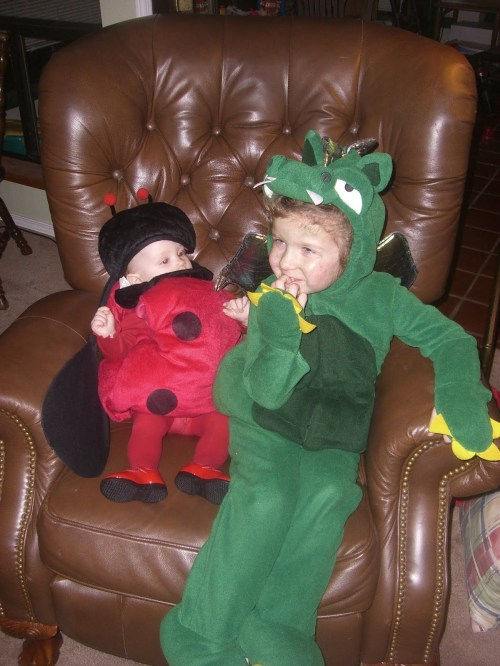 Zoey The Lady Bug and Emma The Dragon